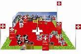 Migros - Dominomania; Mit Dominosteinen die Schweiz entdecken