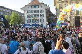 Ryffel Running - High Heel Run auf dem Bern - Bundesplatz