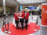 Edelweiss Air AG - Geburtstagssampling am Flughafen Zürich